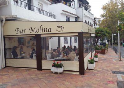Toldos Terraza Bar